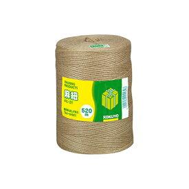 コクヨ 麻紐 チーズ巻き 520m ホヒ-31