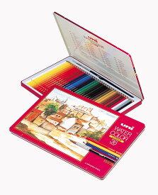 三菱 水彩色鉛筆 36色 WATERCOLOR(ウォーターカラー) 386354 【UWC36C】