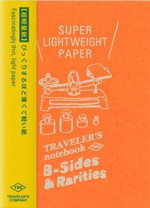 【メール便対応可】midori(ミドリ) 「TRAVELER'S notebook(トラベラーズノート)」「B-Sides &Rarities」 リフィル 超軽量紙 パスポートサイズ 14439006
