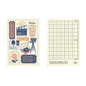 【メール便対応可】midori(ミドリ) 「TRAVELER'S notebook(トラベラーズノート)」下敷き 2022 パスポートサイズ 40230006