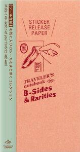 【メール便対応可】midori(ミドリ) 「TRAVELER'S notebook(トラベラーズノート)」「B-Sides &Rarities」 リフィル シール台紙 レギュラーサイズ 14429006