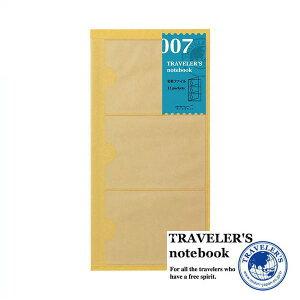 【メール便対応可】 midori(ミドリ) 「TRAVELER'S notebook(トラベラーズノート)」 007 名刺ファイル(レギュラーサイズ) 14301006
