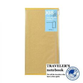 【メール便対応可】 midori(ミドリ) 「TRAVELER'S notebook(トラベラーズノート)」 008 ジッパーケース(レギュラーサイズ) 14302006