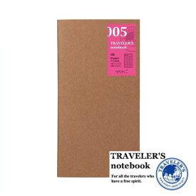 【メール便対応可】 midori(ミドリ) 「TRAVELER'S notebook(トラベラーズノート)」 005 リフィル 日記 (レギュラーサイズ) 14255006
