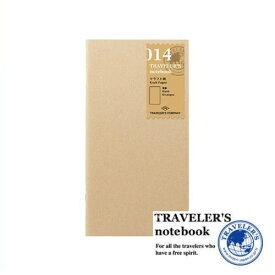 【メール便対応可】 midori(ミドリ) 「TRAVELER'S notebook(トラベラーズノート)」 014 リフィル クラフト (レギュラーサイズ) 14365006