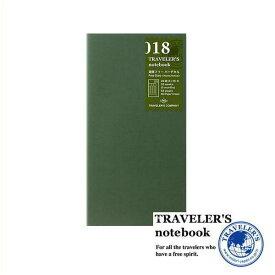 【メール便対応可】 midori(ミドリ) 「TRAVELER'S notebook(トラベラーズノート)」 018 リフィル 週間フリーバーチカル (レギュラーサイズ) 14379006