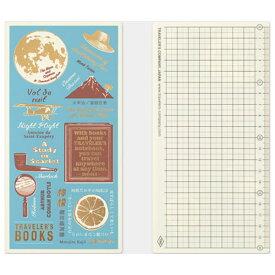 【メール便対応可】midori(ミドリ) 「TRAVELER'S notebook(トラベラーズノート)」下敷き 2021 レギュラーサイズ 40227006