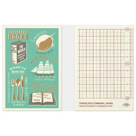 【メール便対応可】midori(ミドリ) 「TRAVELER'S notebook(トラベラーズノート)」下敷き 2021 パスポートサイズ 40228006