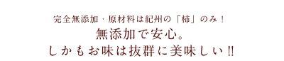 紀州自然菓完全無添加あんぽ柿【送料無料!!】水分を60%も残した和菓子の元祖とも呼ばれるあんぽ柿