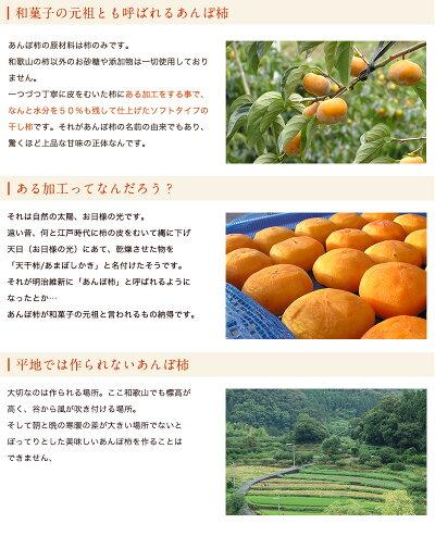 紀州無添加あんぽ柿8個入