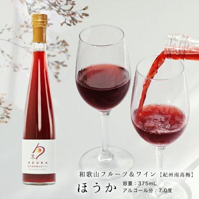 和歌山フルーツワイン赤梅