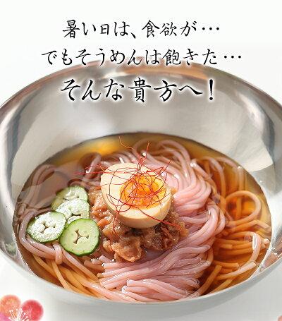新しい夏麺!韓国風冷麺梅冷麺