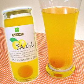 国産州 ハニップCきんかん(200g×15本入)【送料無料】りんご果汁とハチミツ入りのさわやかドリンク!甘酸っぱさが お口の中に広がるきんかんの実入りのストレートタイプのきんかんジュースです。