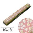 書鎮・桜/ピンク【手造り陶器】文鎮