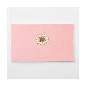 学研ステイフル/ ムーミン 一筆箋 (リトルミイ)(CD04549)ピンク エンボス加工が施された上品なデザイン シンプルでおしゃれ 金箔加工 CD045-49