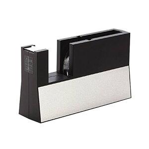 ニチバン/テープカッター 直線美小巻用 黒(TC-CBK6) 切り口がまっすぐキレイ! 高いデザイン性、片手で使える操作性 NICHIBAN