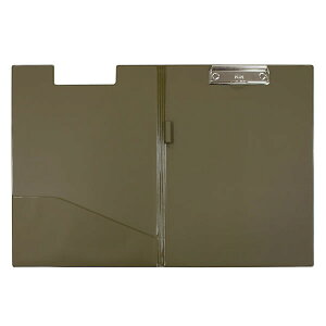 【A4-E・横型】プラス/A用箋挟 クリップボード (33-014) 蓋付 PLUS ペンホルダー付。
