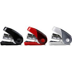 【全3色&限定モデル】マックス/限定 サクリフラット(HD-10FL3/GL)ホッチキス ステープラー 軽いとじ心地、優しいカタチのホッチキス MAX