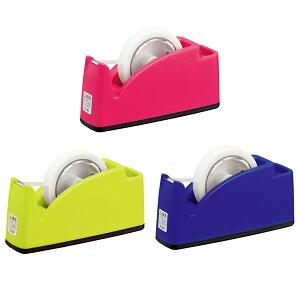 【全3色】プラス/テープカッター ポケット付(TC-201・31-24) ペンやはさみが立てられる便利なポケット付き。 PLUS