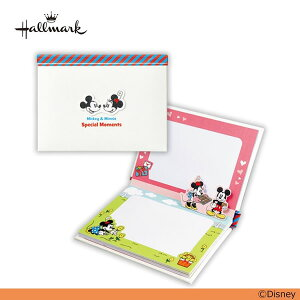 日本ホールマーク/Disney(ディズニー) ポップアップアルバム(セイチーズ!) ミッキーとミニー(EAL-689-803)1年間の思い出整理や成長記録におすすめ hallmark