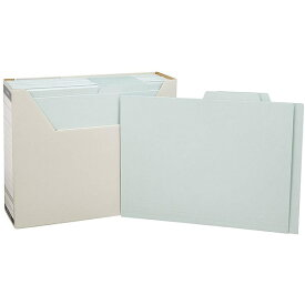 【A4サイズ】コクヨ/個別フォルダー(ファイルボックス付き)お徳用パック(A4-PRIF-B)個別フォルダー100枚とファイルボックスのセット KOKUYO
