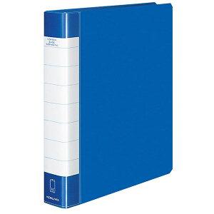 【A4-S・縦型】コクヨ/クリヤーブック<タフボディ>替紙式(ラ-J740B)青 30穴 ポケット50枚付き 丈夫でたわみにくい貼り表紙タイプ 大量収容や長期の保管に最適! KOKUYO