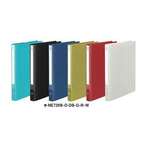 全6色!コクヨ/クリヤーブックNEOS 替紙式ミドル A4縦 30穴10枚(ラ-NE720)最新のオフィスに溶け込むシックなカラー 破れにくい厚口ポケット KOKUYO