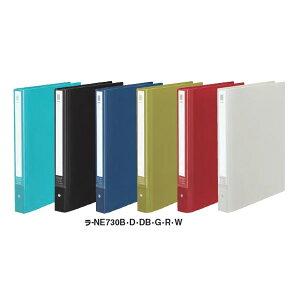 全6色!コクヨ/クリヤーブックNEOS 替紙式ワイド A4縦 30穴20枚(ラ-NE730)最新のオフィスに溶け込むシックなカラー 破れにくい厚口ポケット KOKUYO