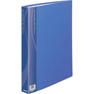 ナカバヤシ/クリアバインダー A4・S型 30穴 25P ブルー (CBM1035B-N) ページの差し替えが自在で便利です。 Nakabayashi