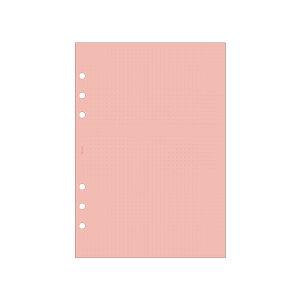 【5セット】レイメイ藤井/システム手帳 decona デコナ リフィル ドット方眼ノート ユポ紙(4.0mm) 5セット (HAR497) Raymay