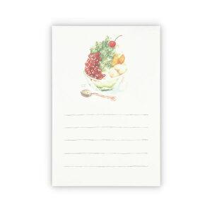 ホールマーク/サマーポストカード おいしい便り 抹茶かき氷 (SCP-777-869) 暑中見舞い hallmark