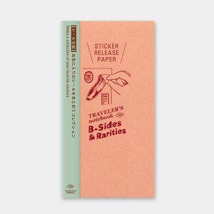 トラベラーズノート/トラベラーズノート リフィル シール台紙(14429006)シールやマスキングの持ち歩きやコレクションに midori(ミドリ)/デザインフィル