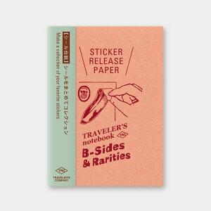 トラベラーズノート/トラベラーズノート パスポートサイズ リフィル シール台紙(14437006)お気に入りのシールをまとめてコレクション midori(ミドリ)/デザインフィル