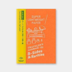トラベラーズノート/トラベラーズノート パスポートサイズ リフィル 超軽量紙(14439006)万年筆で書いても裏抜けしにくい薄くて軽い紙 midori(ミドリ)/デザインフィル