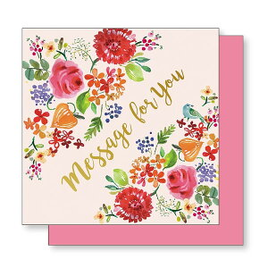 APJ/フラワーポップアップ メッセージボード 色紙 ガーデン (1000105293) ART PRINT JAPAN お祝いにぴったりの華やかなポップアップ色紙♪ アートプリントジャパン