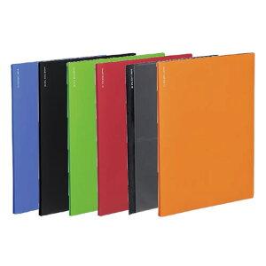 【全6色・A4サイズ】コクヨ/名刺ファイルα<ノビータα>(メイ-NF10) 収容数200名 台紙枚数10枚 単体でも使える超薄型名刺ファイル 1冊に200名収容可能! KOKUYO