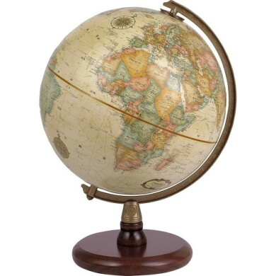 【送料無料・日本語版】リプルーグル地球儀クインシー型球径23cmワールド・クラシック・シリーズ(51572)【b_2sp0523】【smtb-kd】