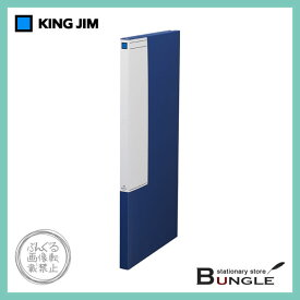 【A0・3つ折】キングジム/図面ファイルGS(1170) 収納量10mm・200枚 スクエアラベル付き 開閉が簡単な面ファスナー付き/KING JIM