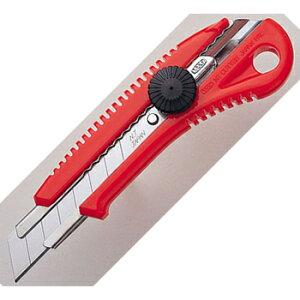 エヌティー/NTカッター 大型 (L-550) 赤ギザ 厚いものを切るにも力を入れやすい