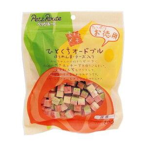 ペッツルート 4984937682262 素材メモ ひとくちオードブル ほうれん草・チーズ入り お徳用 200g