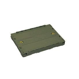 パール金属 UL-1046 キャンプアウト FDコンテナ50 オリーブ UL1046【キャンセル不可】