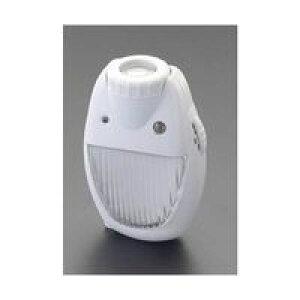 エスコ EA864CB-15 AC100V/3.5WLEDセンサーライト EA864CB15【キャンセル不可】