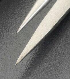 エスコ EA595AK-133 70mm /M4 ステンレス製 精密用ピンセット EA595AK133【キャンセル不可】