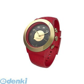 95ffd3dc3d CONNECTEDEVICE [4562187616826] Bluetooth SMART対応アナログ腕時計 COGITO FIT RED GOLD【 送料無料