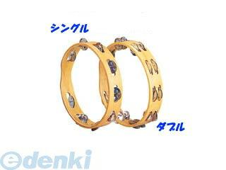【個数:1個】キクタニ(KIKUTANI)[MT-10W] 木胴モンキータンブリン ダブル MT10W【ポイント10倍】