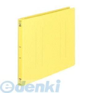 コクヨ KOKUYO 51142285 フラットファイルPP A4横 15mmとじ 2穴 黄 フ−H15Y