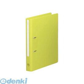 リヒトラブ LIHIT LAB. F-7663-6 TEFFA ROUND design D型リングファイル<ツイストリング> A4・S型 2穴 6黄緑 4903419151393
