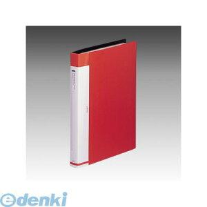 リヒトラブ LIHIT LAB. G8813-3 リクエスト 名刺帳<ポケット交換タイプ> A4・S型 30穴 3赤 4903419814465