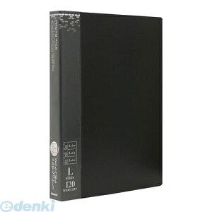 ナカバヤシ 38096 バインダー式ポケットアルバム フォトファイル アS−MY−141−D ブラック 38096