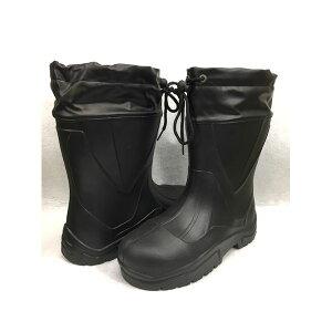 GDJAPAN ジーデージャパン 4589969284820 RB−078 Wing Rubber 特殊配合軽量安全長靴 ショート フード付き ブラック L